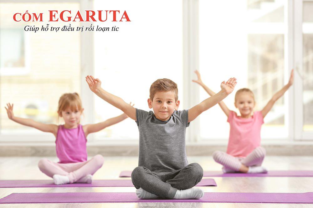 Kết hợp cũng các bài tập thư giãn giúp trẻ rối loạn tic cải thiện triệu chứng tốt hơn